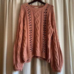 NWOT For Love & Lemons Knitz Sweater